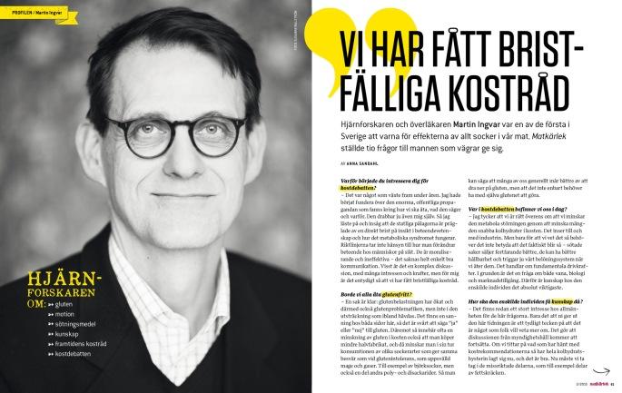 Hjärnforskaren Martin Ingvar av Anna Sandahl